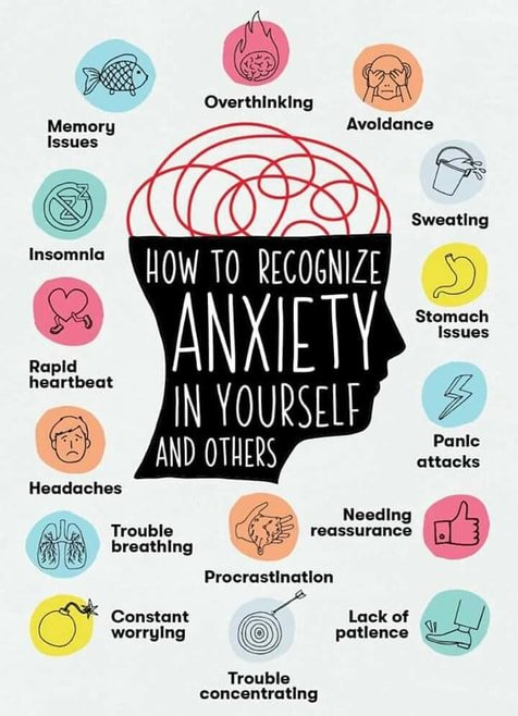 10 healthy ways to overcome anxiety and stop a panic attack - how to recognize the signs