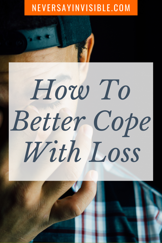 How To Better Cope With Loss - It might seem like the #pain of loss won't end. Whether you lost a loved on and you're #coping with #heartache or you have a new #disability and are #grieving the loss of your old life, there is sunshine above the clouds. I'll show you how.